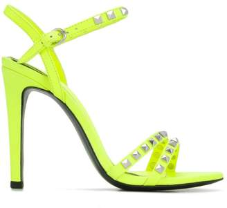 Ash studded high-heel sandals