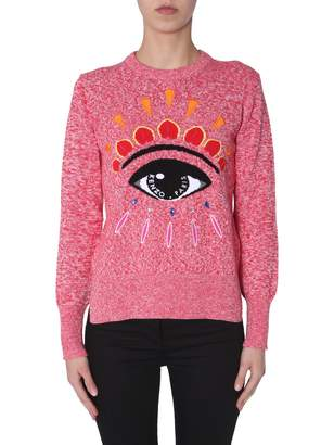 Kenzo Sweater With Embroidered Eye