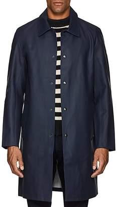 Stutterheim Raincoats RAINCOATS MEN'S VASASTAN COTTON-BLEND RAINCOAT
