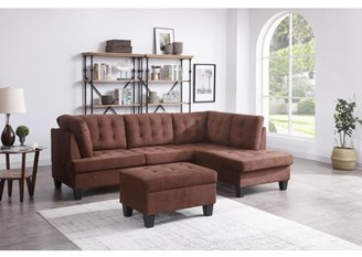 Nathaniel Home Champion Sectional Set, Multiple Colors