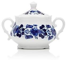 Richard Ginori Babele Antico Sugar Bowl - White & Blue