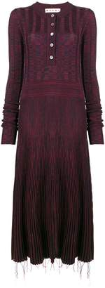 Marni patterned sweater dress