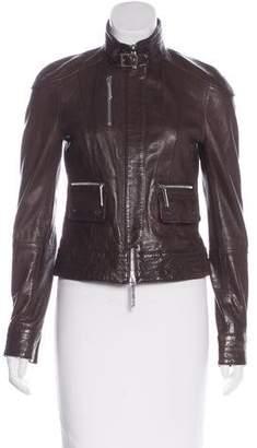 Tory Burch Moto Leather Jacket