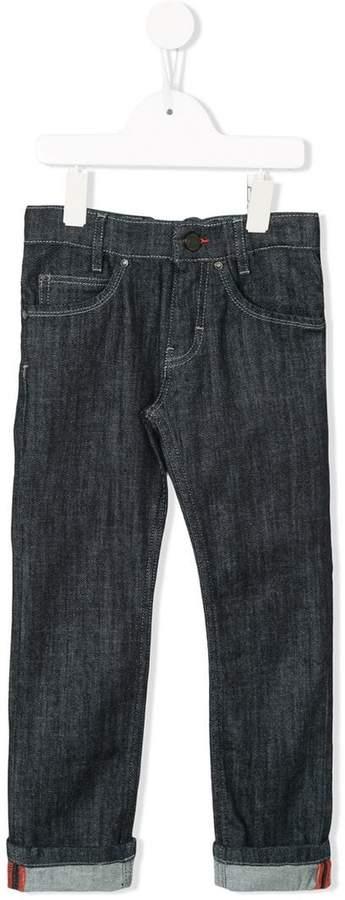 Givenchy Kids Jeans mit Taschen