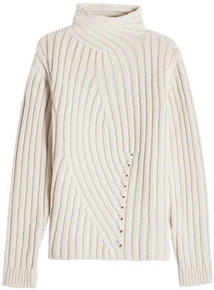 Jil Sander Turtleneck Pullover in Wool and Cashmere