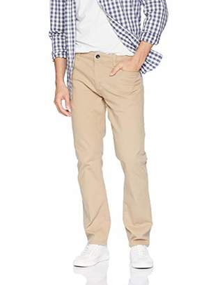 Izod Men's Saltwater Straight Fit Five Pocket Pant