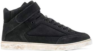 Saint Laurent Max Scratch mid-top sneakers