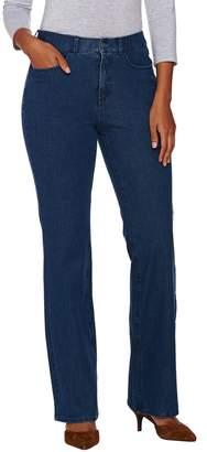 Isaac Mizrahi Live! Petite 24/7 Denim 5-Pocket Boot Cut Jeans