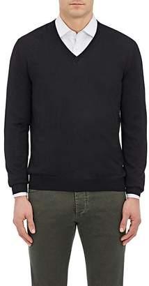 Barneys New York Men's Wool V-Neck Sweater
