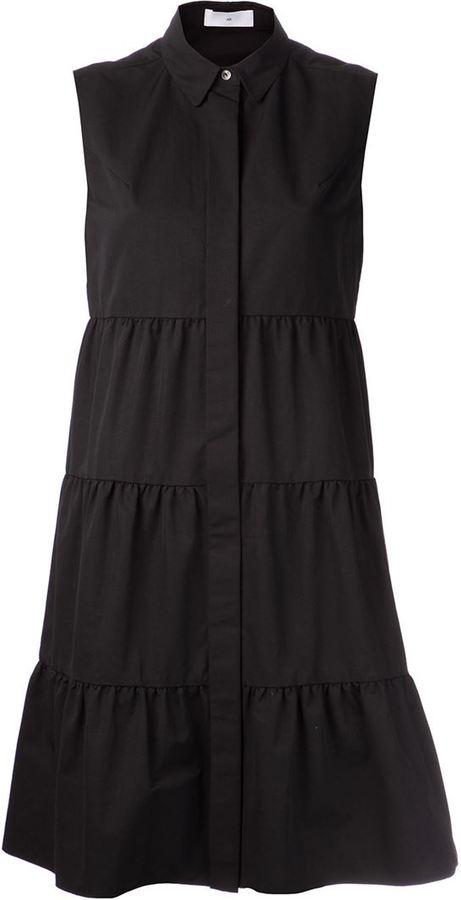 AR+ AR tiered sleeveless dress