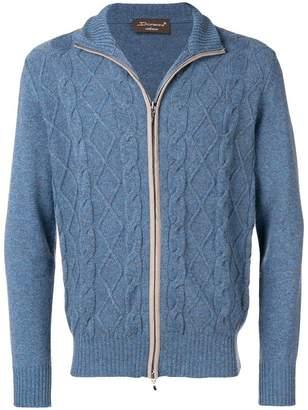 Doriani Cashmere cashmere zip-up cardigan