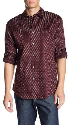 John Varvatos Collection Print Slim Fit Sport Shirt