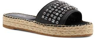 Botkier Women's Julie Leather Espadrille Slide Sandals
