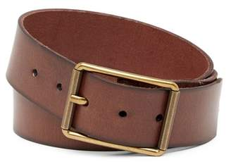 Frye Burnished Leather Belt