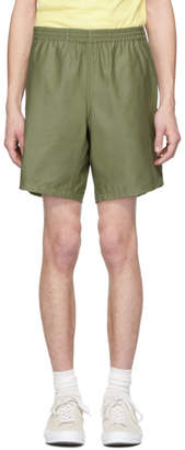 paa Green Sateen Shorts