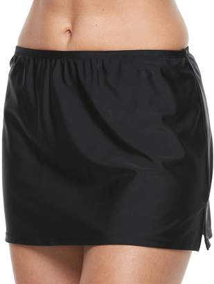 Croft & Barrow Women's High Rise Skirtini Bottoms