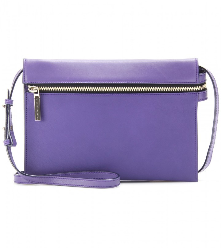 Victoria Beckham Zip leather shoulder bag
