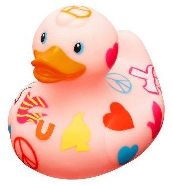 Bud Rubber Luxury Duck Bath Tub Toy, Peace