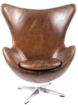 MOE's home collection St Anne Club Chair Brown