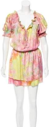 Alexis Printed Mini Dress
