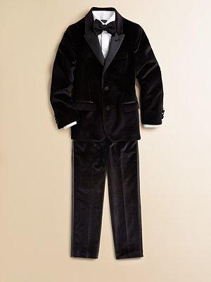 Dolce & Gabbana Boy's Classic Velvet Jacket