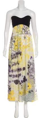 Diane von Furstenberg Strapless Maxi Dress