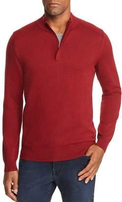 BOSS Esilvio Quarter Zip Pullover - 100% Exclusive