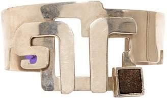 Jean Louis Scherrer Silver Metal Bracelet