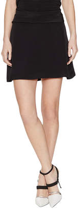 Balenciaga Silk Mini Skirt With Bow