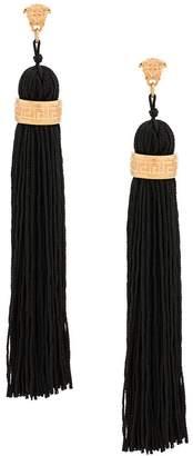 Versace Medusa tassel drop earrings