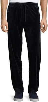 Giorgio Armani Men's Jersey Velvet Lounge Pants