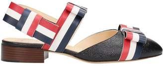 Thom Browne Sling Back Flat Sandals