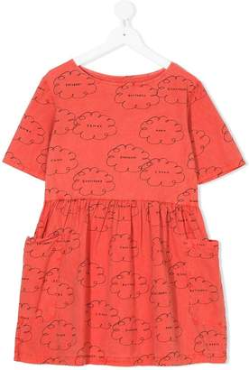 Bobo Choses clouds print dress