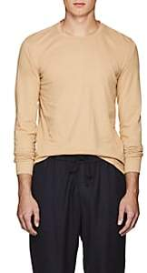 Tomas Maier MEN'S COTTON LONG SLEEVE T-SHIRT-BEIGE, TAN SIZE XL