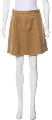 Dolce & Gabbana Wool Mini Skirt