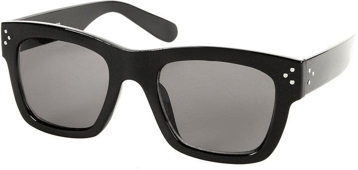 Square Frame Plastic Sunglasses