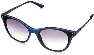 Vogue Women's Injected Woman Non-Polarized Iridium Round Sunglasses