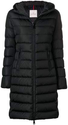 Moncler mid-length hooded coat