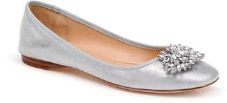 Badgley Mischka Collection Pippa Crystal Foldable Flat