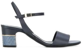 Pollini block heel sandals