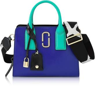 Marc Jacobs Blue Strap Little Big Shot Tote Bag
