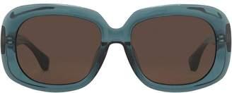 Linda Farrow Dries Van Noten oversized sunglasses
