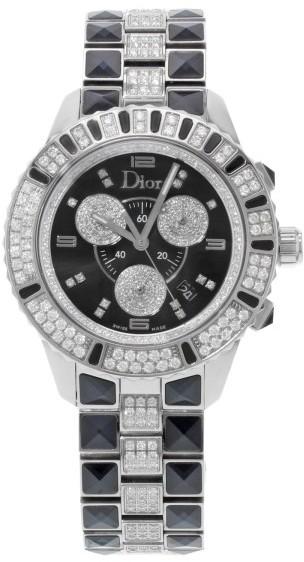 Christian Dior Christian Dior Christal CD11431DM001 Stainless Steel Quartz 38mm Womens Watch