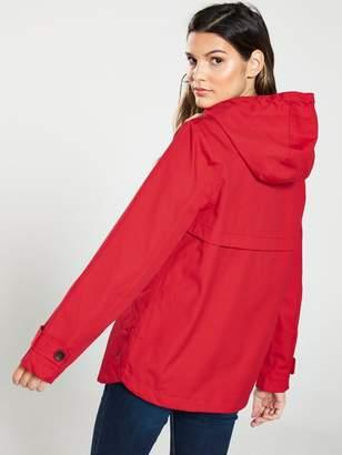673aa5cb6 Joules Coast Waterproof Hooded Jacket - Red