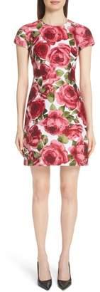 Michael Kors Rose Jacquard Tee Dress