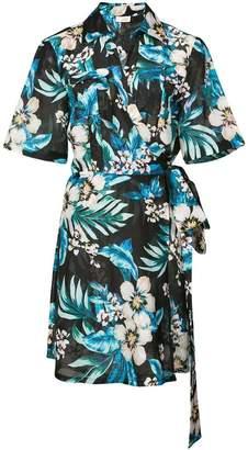 DAY Birger et Mikkelsen Dvf West floral shirt dress
