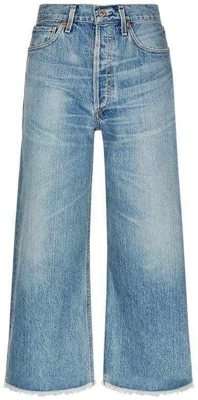 Emma Cropped Straight-Leg Jeans