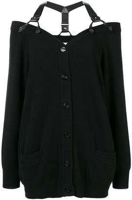 Moschino shoulder strap cardigan