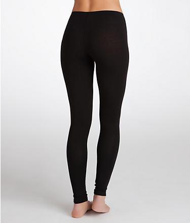 Splendid Pima Cotton and Modal Long Leggings Panty Hose