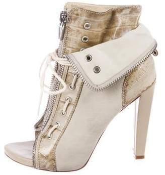 Alexander Wang Freja Leather Booties